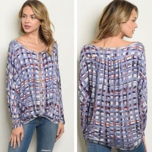 Pretty long-sleeved top